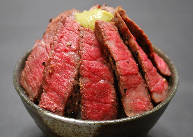 肉フェス 熟成 佐賀牛ステーキ丼